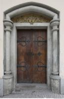 door double wooden ornate 0005